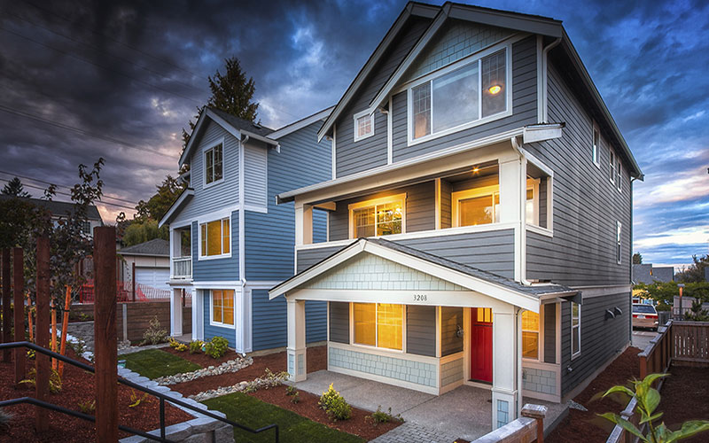 Lennar Homes - High Point Seattle - exterior 3
